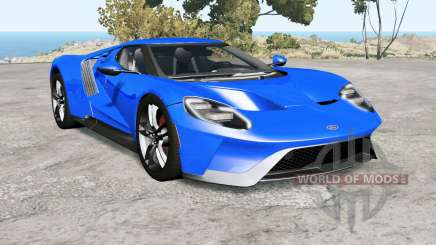 Ford GT Ձ017 для BeamNG Drive