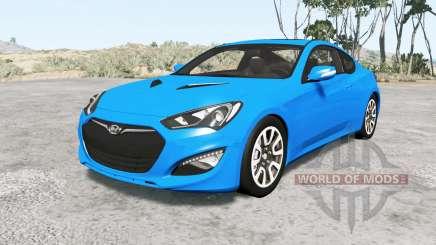 Hyundai Genesis coupe 2013 v1.1 для BeamNG Drive