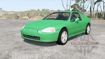 Honda CR-X del Sol SiR (EG2) 1992 v2.0 для BeamNG Drive