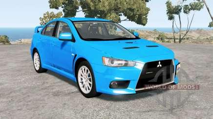 Mitsubishi Lancer Evolution X GSR (CZ4A) для BeamNG Drive