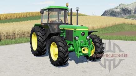 John Deere 3050-serieᵴ для Farming Simulator 2017