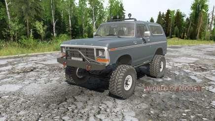 Ford Bronco для MudRunner