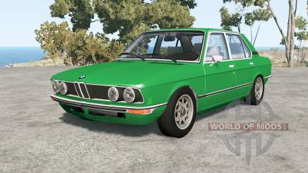 BMW 528i sedan (E12) 1977 v1.18 для BeamNG Drive