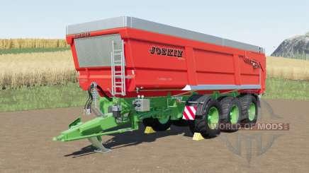 Joskin Trans-Space 8000-27TRC150 для Farming Simulator 2017