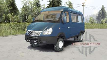 ГАЗ-27527 Соболь 4x4 для Spin Tires
