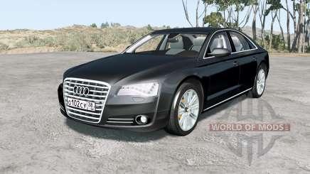 Audi A8 L quattro (D4) 2010 для BeamNG Drive