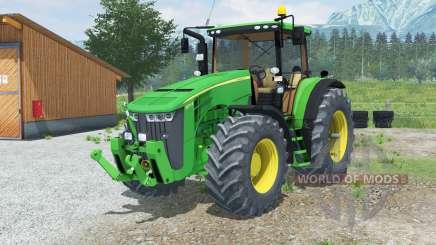 John Deere 8370Ɽ для Farming Simulator 2013