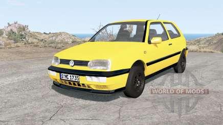 Volkswagen Golf 3-door (Typ 1H) 1995 для BeamNG Drive