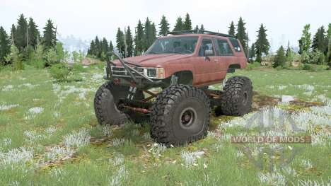 Toyota 4Runner (LN61) lifted для Spintires MudRunner