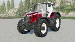 Massey Ferguson 8700S-serieᶊ для Farming Simulator 2017