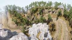 Возим лес 10 для MudRunner