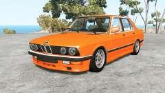 BMW M5 (E28) 1985 v1.18 для BeamNG Drive