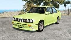 BMW M3 coupe (E30) 1990 v1.18 для BeamNG Drive