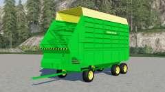 John Deere 716 для Farming Simulator 2017