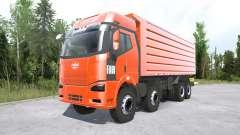 FAW Jiefang J6P 8x8 Dump Truck для MudRunner