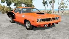 Plymouth Hemi Cuda 1971 для BeamNG Drive