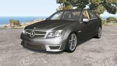 Mercedes-Benz C 63 AMG (W204) Ձ011 для BeamNG Drive