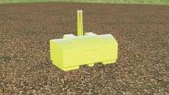 AGCO weight 2800 kg. для Farming Simulator 2017