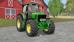 John Deere 7030 Premiuꬺ для Farming Simulator 2017