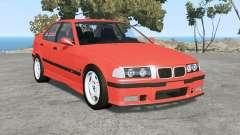 BMW M3 sedan (E36) 1997 v1.18 для BeamNG Drive
