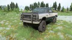 Dodge Power Ram 250 Club Cab 1990 для MudRunner