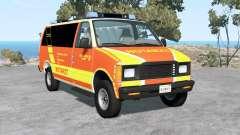 Gavril H-Series German Emergency для BeamNG Drive