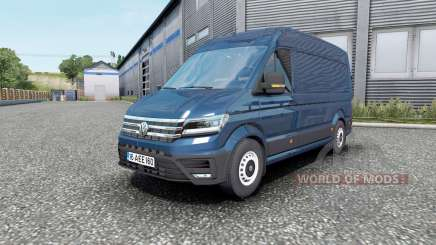 Volkswagen Crafter High Roof Van 2018 для Euro Truck Simulator 2