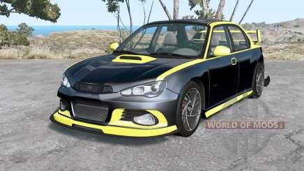 Hirochi Sunburst Blackline v2.0 для BeamNG Drive