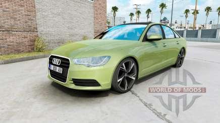 Audi A6 sedan (C7) 2011 для American Truck Simulator