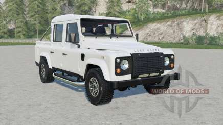 Land Rover Defender 110 Double Cab Pickup для Farming Simulator 2017