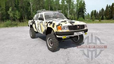 ГАЗ-31029 Волга 4x4 для MudRunner