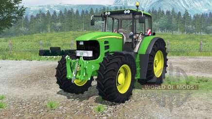 John Deere 7530 Premiuꝳ для Farming Simulator 2013