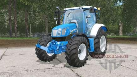New Holland Ⱦ6.160 для Farming Simulator 2015