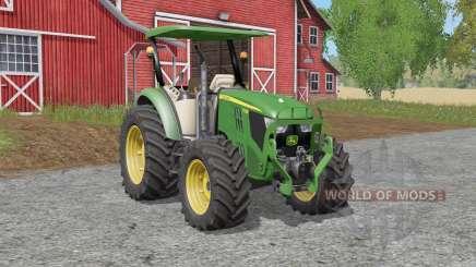 John Deere 5M-serieᶊ для Farming Simulator 2017