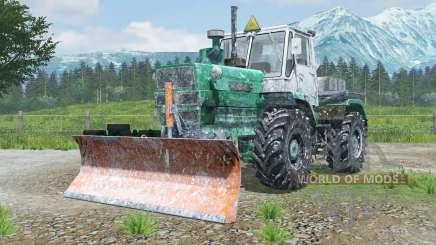 Т-150К с отвалом ПО-1-3Г для Farming Simulator 2013