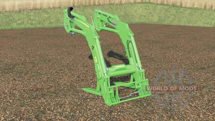 John Deere 643Ɍ для Farming Simulator 2017