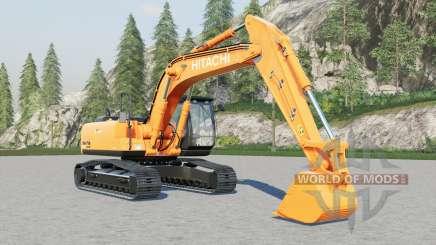 Hitachi ZX200LCN для Farming Simulator 2017