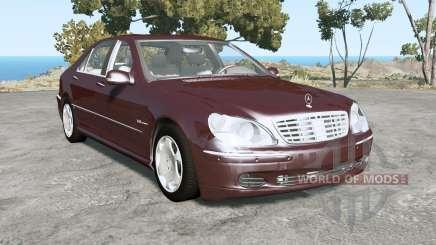 Mercedes-Benz S 600 (W220) 2005 для BeamNG Drive