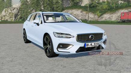 Volvo V60 T6 Inscription 2018 v1.2.2 для Farming Simulator 2017
