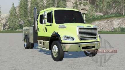 Freightliner Business Class M2 106 Crew Cab для Farming Simulator 2017