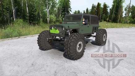Jeep Wrangler crawler для MudRunner