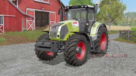 Claas Axion 810〡830〡৪50 для Farming Simulator 2017