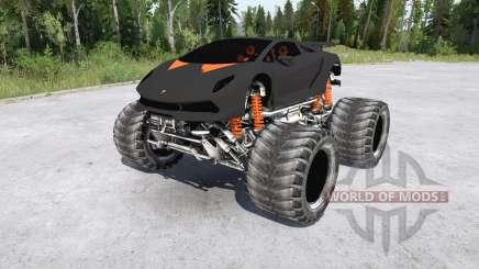 Lamborghini Sesto Elemento Monster Truck для MudRunner