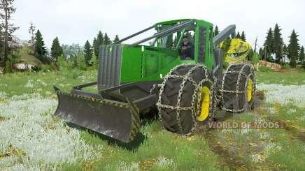 John Deere 748H v1.1 для MudRunner
