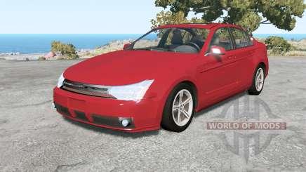 Ford Focus sedan (NA2) 2008 v1.3 для BeamNG Drive