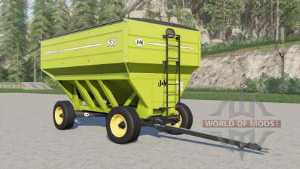J&M 680 gravity wagon для Farming Simulator 2017