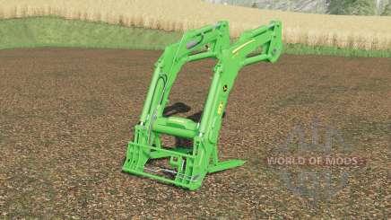 John Deere 643R для Farming Simulator 2017