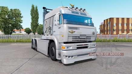 КамАЗ-6460 Turbo Dieseᶅ для Euro Truck Simulator 2