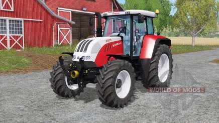 Steyr 6140 CVƬ для Farming Simulator 2017