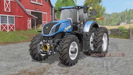 New Holland T7-seᵲies для Farming Simulator 2017